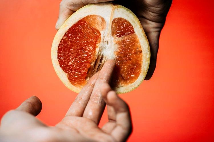 fantasía sexual con frutas